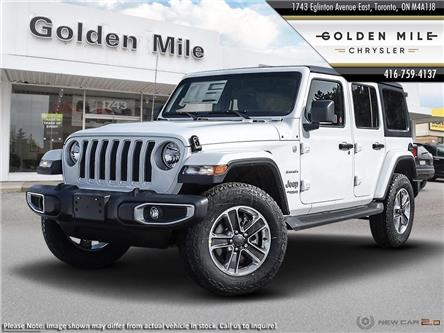 2020 Jeep Wrangler Unlimited Sahara (Stk: 20019) in North York - Image 1 of 23