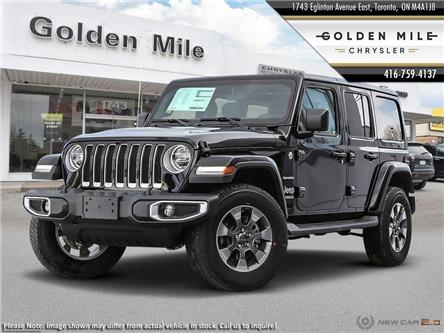 2020 Jeep Wrangler Unlimited Sahara (Stk: 20006) in North York - Image 1 of 23