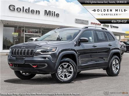 2020 Jeep Cherokee Trailhawk (Stk: 20077) in North York - Image 1 of 23