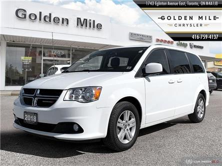 2018 Dodge Grand Caravan Crew (Stk: SP0300) in North York - Image 1 of 29