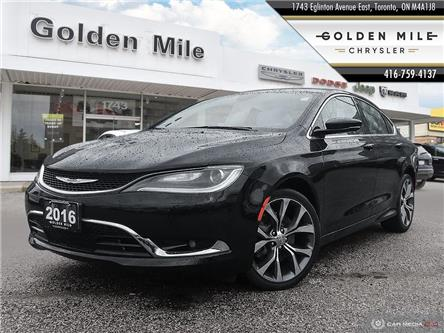 2016 Chrysler 200 C (Stk: SP0094A) in North York - Image 1 of 25