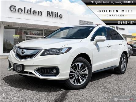 2016 Acura RDX Base (Stk: SP0140A) in North York - Image 1 of 27