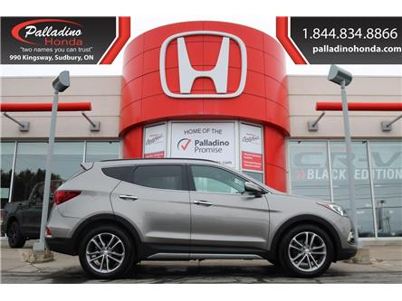 2018 Hyundai Santa Fe Sport 2.0T Limited (Stk: U9279B) in Greater Sudbury - Image 1 of 41