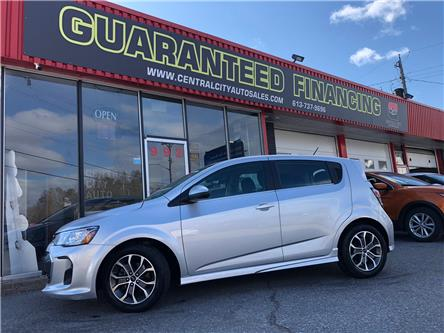 2018 Chevrolet Sonic LT Auto (Stk: 19-313) in Ottawa - Image 1 of 13
