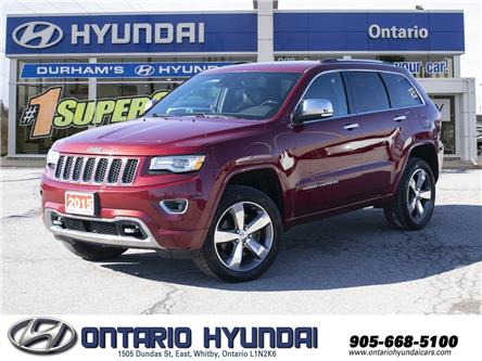2015 Jeep Grand Cherokee Overland (Stk: 85000K) in Whitby - Image 1 of 23
