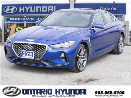 2019 Genesis G70 2.0T Prestige (Stk: 08301K) in Whitby - Image 1 of 22