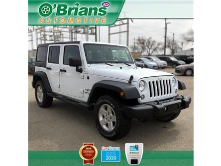 2014 Jeep Wrangler Unlimited Sport (Stk: 13298B) in Saskatoon - Image 1 of 16