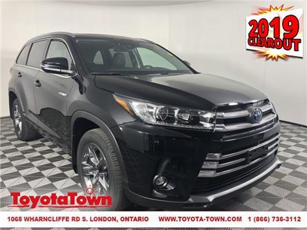 2019 Toyota Highlander Hybrid Limited (Stk: D1557) in London - Image 1 of 30