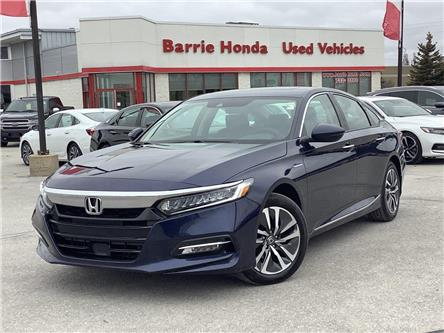 2019 Honda Accord Hybrid Touring (Stk: U19070) in Barrie - Image 1 of 26