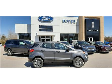 2020 Ford EcoSport S (Stk: EC2091) in Bobcaygeon - Image 1 of 20