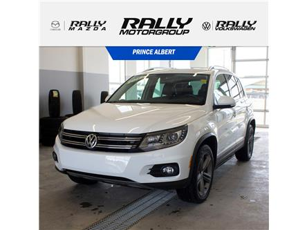 2017 Volkswagen Tiguan Highline (Stk: V681A) in Prince Albert - Image 1 of 15