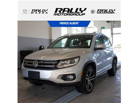 2017 Volkswagen Tiguan Highline (Stk: V886) in Prince Albert - Image 1 of 14