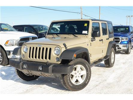 2018 Jeep Wrangler JK Unlimited Sport (Stk: 18373) in Pembroke - Image 1 of 22