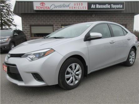 2016 Toyota Corolla  (Stk: U7559) in Peterborough - Image 1 of 19