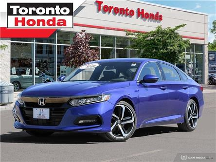 2018 Honda Accord Sedan Sport (Stk: H40205P) in Toronto - Image 1 of 27