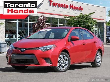 2015 Toyota Corolla LE (Stk: H40172A) in Toronto - Image 1 of 27