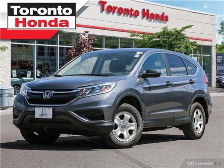 2016 Honda CR-V LX (Stk: H40139T) in Toronto - Image 1 of 27