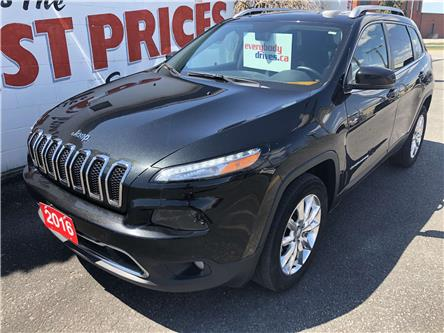 2016 Jeep Cherokee Limited (Stk: 20-173T) in Oshawa - Image 1 of 15