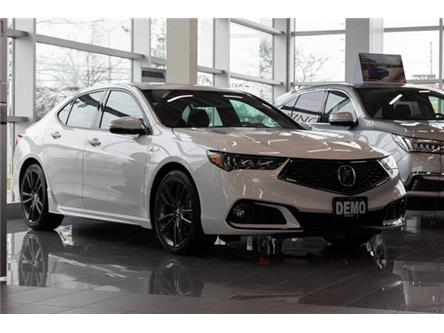 2020 Acura TLX Tech A-Spec w/Red Leather (Stk: L800093GROUNDED) in Brampton - Image 1 of 11