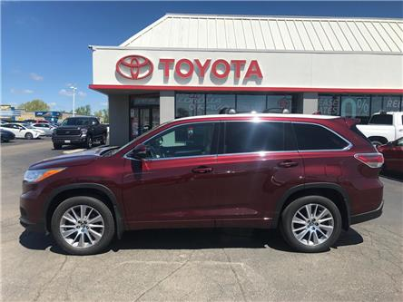 2016 Toyota Highlander  (Stk: 1907731) in Cambridge - Image 1 of 15