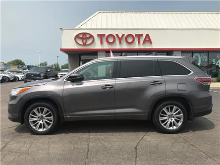 2016 Toyota Highlander  (Stk: 1908541) in Cambridge - Image 1 of 15