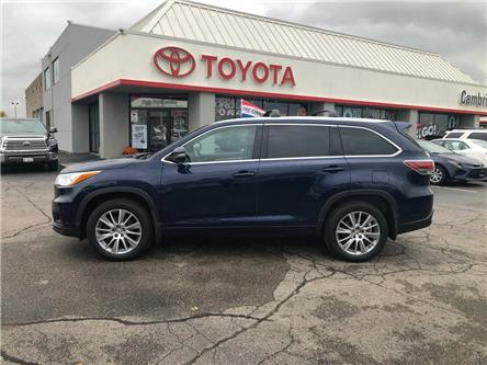 2015 Toyota Highlander  (Stk: 1907941) in Cambridge - Image 1 of 14