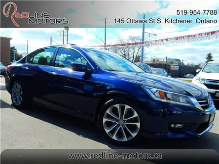 2015 Honda Accord Sport (Stk: 1HGCR2) in Kitchener - Image 1 of 24