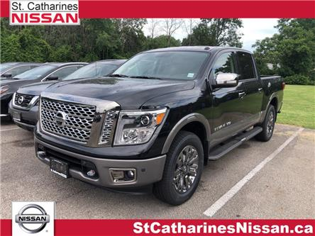 2019 Nissan Titan Platinum (Stk: TI19007) in St. Catharines - Image 1 of 5