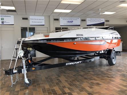 2018 Starcraft 191 MDX EVINRUDE E-TEC 115HP (Stk: 55F718) in Belleville - Image 1 of 20