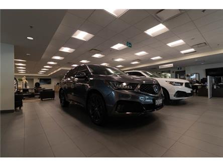2020 Acura MDX A-Spec (Stk: L800569R GROUND) in Brampton - Image 1 of 10