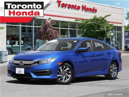 2016 Honda Civic Sedan EX (Stk: H40213T) in Toronto - Image 1 of 27