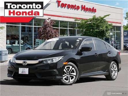 2016 Honda Civic Sedan LX (Stk: H40195T) in Toronto - Image 1 of 27