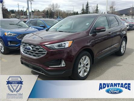 2020 Ford Edge Titanium (Stk: L-656) in Calgary - Image 1 of 13