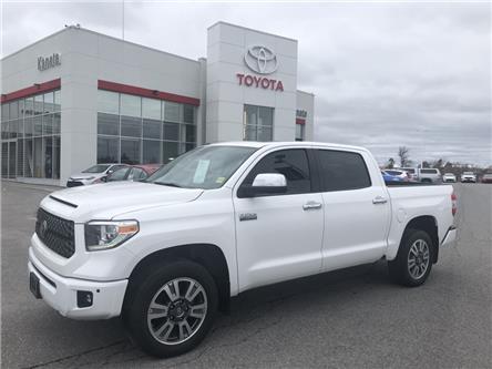 2018 Toyota Tundra Platinum 5.7L V8 (Stk: 90313A) in Ottawa - Image 1 of 19
