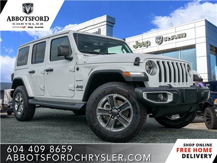 2020 Jeep Wrangler Unlimited Sahara (Stk: L138278) in Abbotsford - Image 1 of 22
