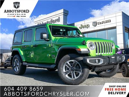 2020 Jeep Wrangler Unlimited Sahara (Stk: L138280) in Abbotsford - Image 1 of 24
