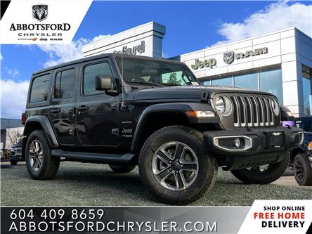 2020 Jeep Wrangler Unlimited Sahara (Stk: L162398) in Abbotsford - Image 1 of 24
