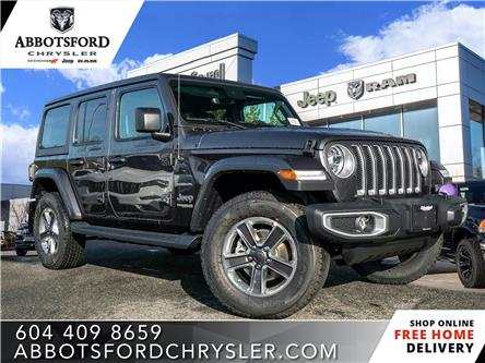 2020 Jeep Wrangler Unlimited Sahara (Stk: L162397) in Abbotsford - Image 1 of 24