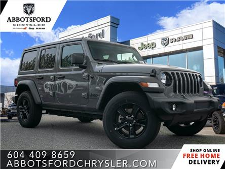 2019 Jeep Wrangler Unlimited Sport (Stk: K633719) in Abbotsford - Image 1 of 24