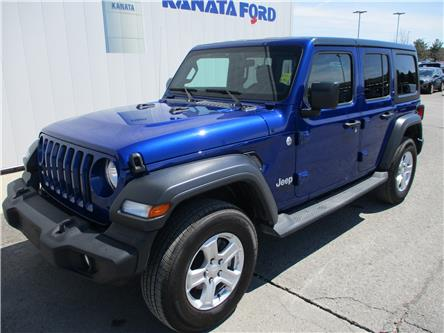2018 Jeep Wrangler Unlimited Sport (Stk: P49750) in Kanata - Image 1 of 18