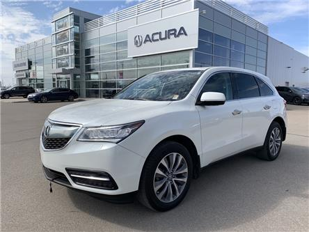 2016 Acura MDX Technology Package (Stk: A4199A) in Saskatoon - Image 1 of 24