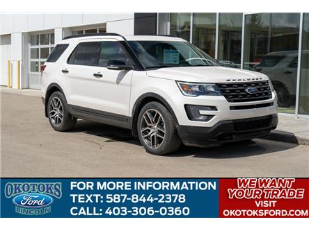 2017 Ford Explorer Sport (Stk: B81640) in Okotoks - Image 1 of 26