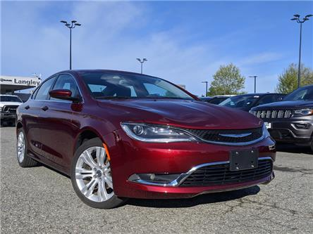 2016 Chrysler 200 Limited (Stk: L151981A) in Surrey - Image 1 of 18