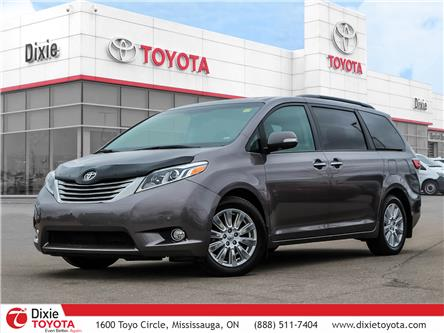 2017 Toyota Sienna  (Stk: D201448A) in Mississauga - Image 1 of 30