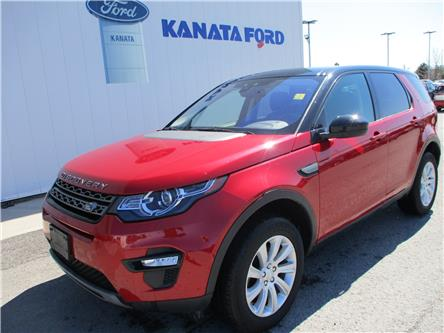2017 Land Rover Discovery Sport SE (Stk: P49240) in Kanata - Image 1 of 15
