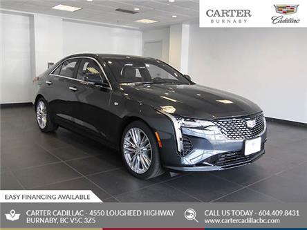2020 Cadillac CT4 Premium Luxury (Stk: C0-68280) in Burnaby - Image 1 of 22