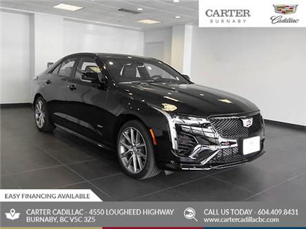 2020 Cadillac CT4 V-Series (Stk: C0-66030) in Burnaby - Image 1 of 23