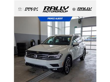 2018 Volkswagen Tiguan Highline (Stk: V874A) in Prince Albert - Image 1 of 15
