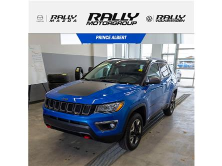 2018 Jeep Compass Trailhawk (Stk: V922A) in Prince Albert - Image 1 of 18