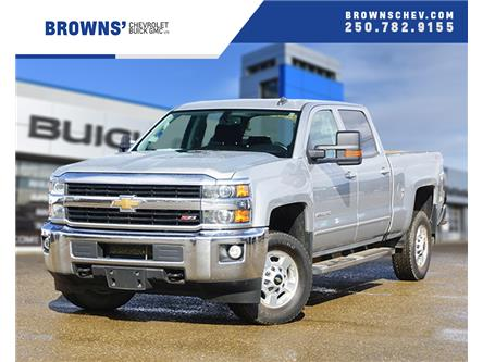 2017 Chevrolet Silverado 2500HD LT (Stk: 4166A) in Dawson Creek - Image 1 of 15